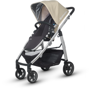 Cruz in Lindsey (Wheat and Silver) stroller
