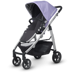 Cruz in Maeve (Lavender and Silver) stroller
