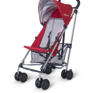 G-Lite Denny (Red and Silver) stroller