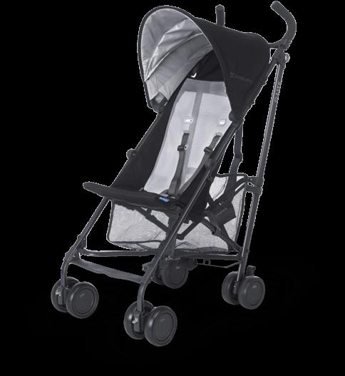 G-Lite Jake (Black and Carbon) stroller