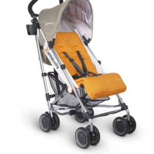 G-Luxe Ani (Orange and Wheat) umbrella stroller