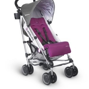 G-Luxe Makena (Magenta and Grey) umbrella stroller