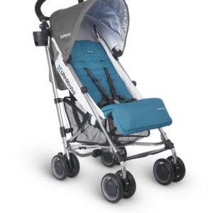 G-Luxe Sebby (Teal and Grey) stroller