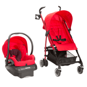 Kaia Mico Nxt Travel System in Intense Red