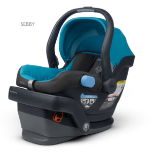 Mesa in Sebby (teal) car seat