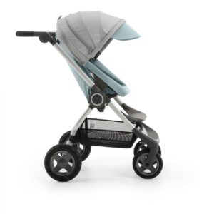 Scoot in Aqua Blue stroller