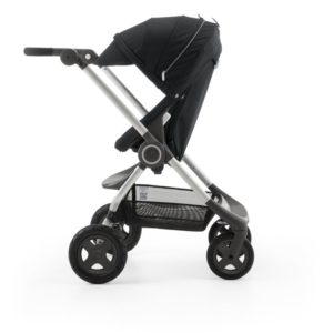 Scoot in Black stroller