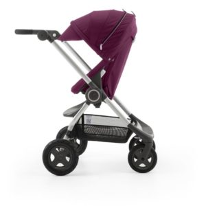 Scoot in Purple stroller
