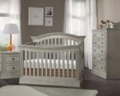 stella baby trinity convertible crib in chateau
