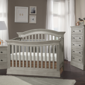 stella baby trinity convertible crib in chateau