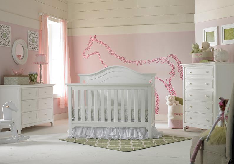 Ti Amo Catania Convertible Crib In Snow White Kids