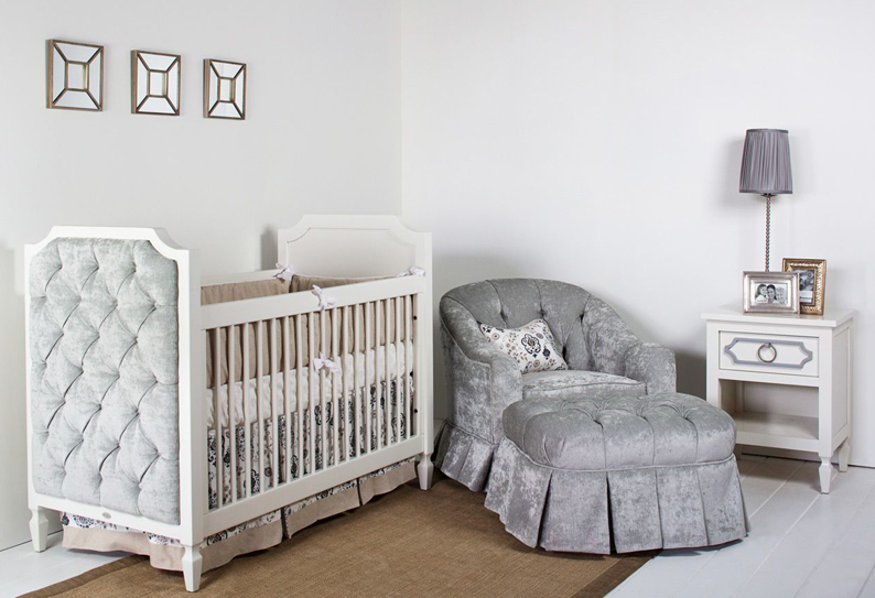 Newport Cottages Beverly Crib With Tufted Panels Kids