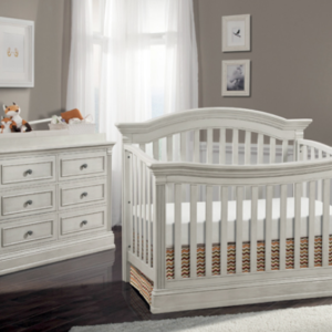 stella baby trinity crib in belgium cream