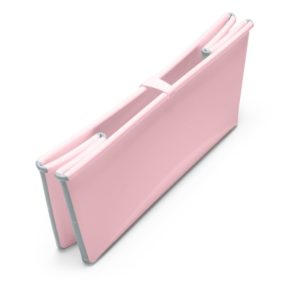 Stokke Flexi Bath in Pink Folded