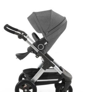Trailz in Black Melange stroller