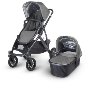 Uppababy Vista in Pascal (Grey and Carbon) stroller