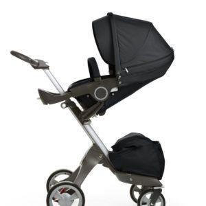 Xplory in Black stroller