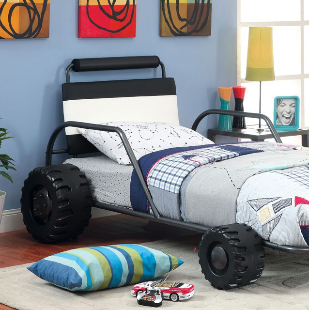 Turbo Racer Twin Size Bed Kids Furniture In Los Angeles