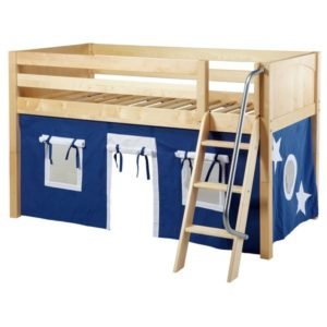 Maxtrix EASYRIDER22 Panel Low Loft Bed in Natural 1