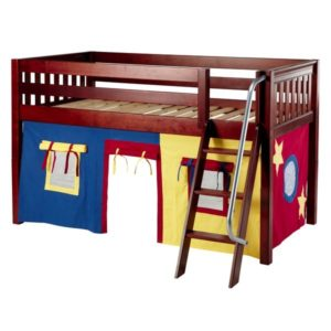 Maxtrix EASYRIDER29 Slat Low Loft Bed