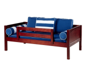maxtrix twin daybed with back pillows