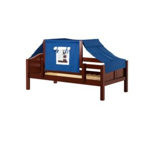 YO22 Curve Daybed with Top Tent in Chesnut