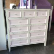 Gabby 11 Drawer Dresser w/ Crystal Knobs