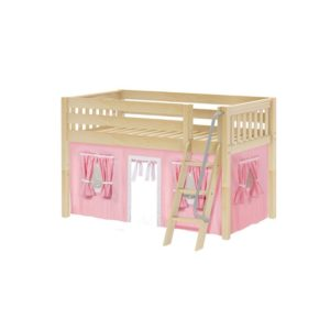 Maxtrix EASYRIDER23 Slat Low Loft Bed in Natural
