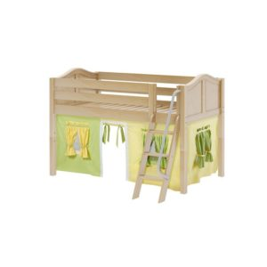 Maxtrix EASYRIDER24 Curve Low Loft Bed in Natural