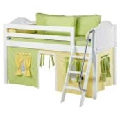 Maxtrix EASYRIDER24 Curve Low Loft Bed in White