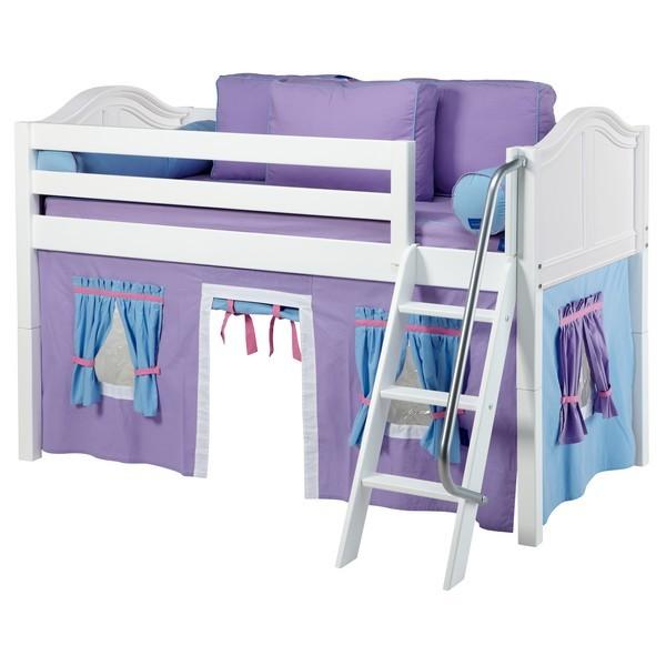 Maxtrix EASYRIDER27 Curve Low Loft Bed w/Tent – Kids ...