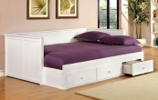 CM1927 daybed with drawers in white