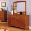CM7905D double dresser in oak