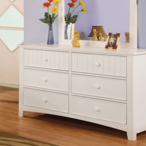 CM7905D double dresser in white