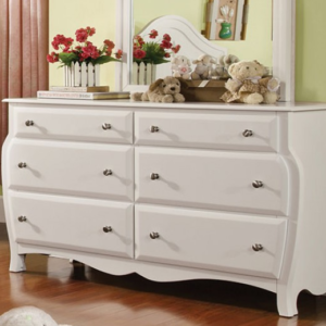 CM7940D double dresser in white