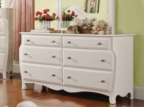 CM7940D double dresser in white