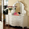 CM7519D double dresser in pearl white