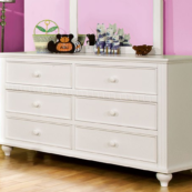 CM7920D double dresser in white