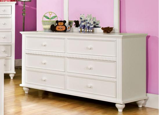 CM7920D double dresser in white