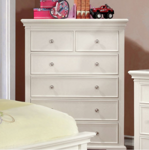 CM7943WH-C chest of drawers in white