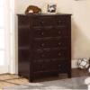 CM7905C chest of drawers in dark walnut