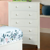 CM7908C chest of drawers in white