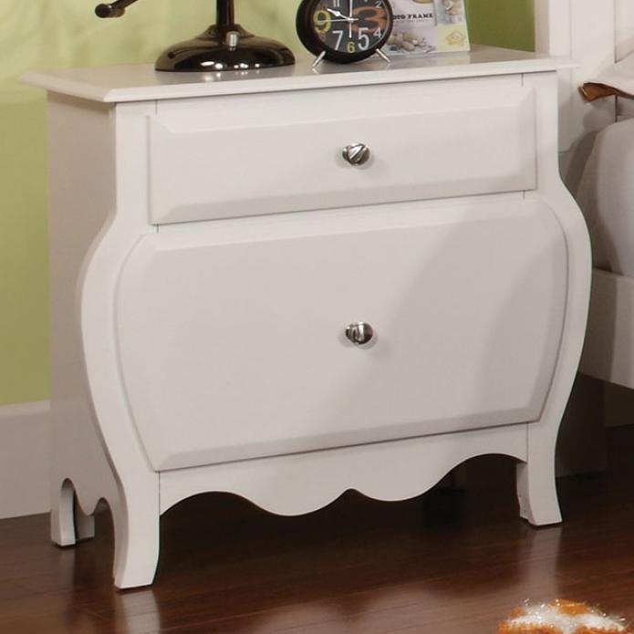 CM7940N nightstand in white