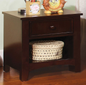 CM7905N nightstand in dark walnut