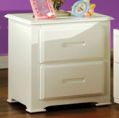 CM7031N nightstand in white