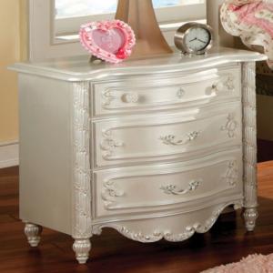 CM7226N nightstand in pearl white