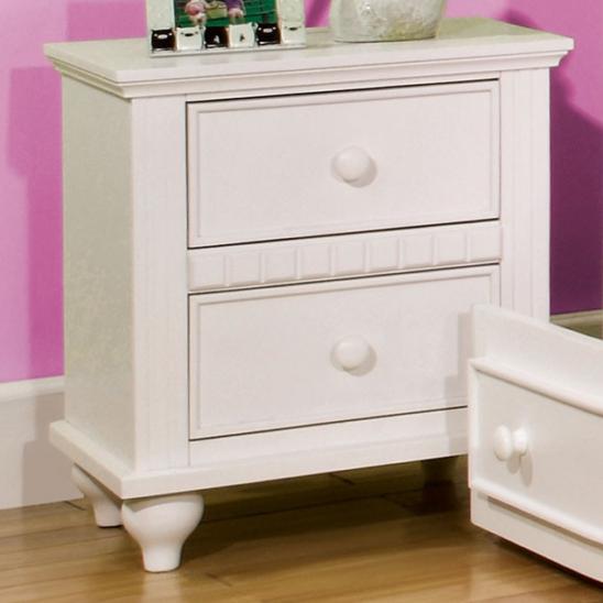 CM7920N nightstand in white