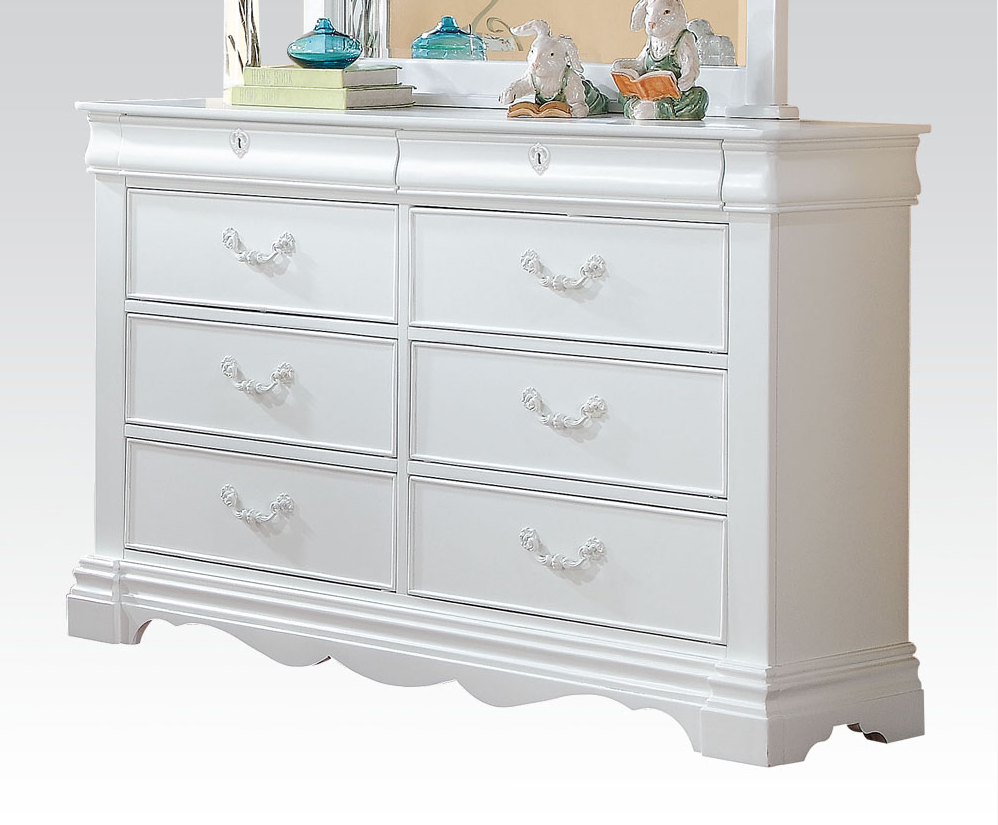 Ester Collection Double Dresser - Kids Furniture In Los Angeles