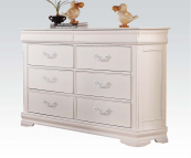 30131 double dresser in white