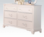 30150 Double Dresser in White